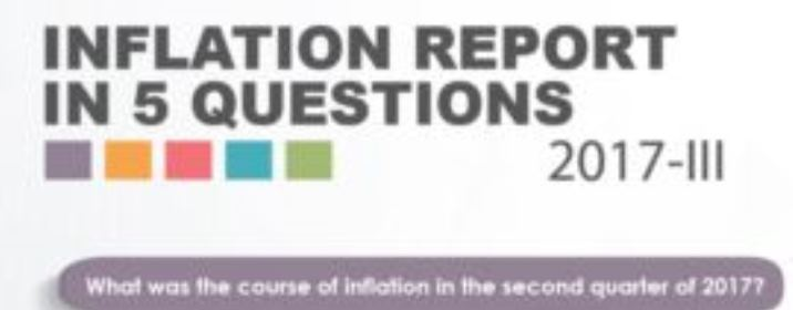 Inflation Report 2017-III in Five Questions