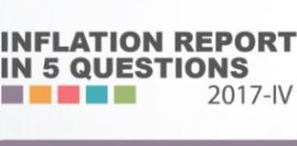 Inflation Report 2017-IV in Five Questions